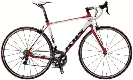 KHS flite team 2014 white red dura ace