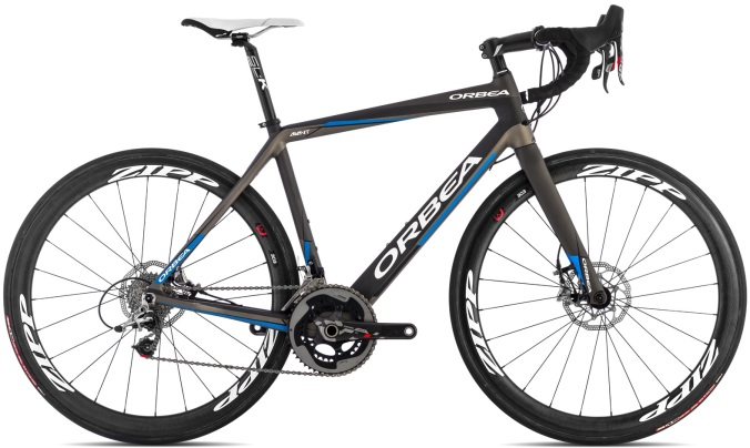 Orbea AVANT M-LTD black blue disc 2014 sram red