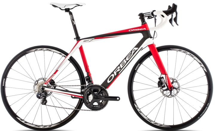 Orbea AVANT M10D black white red 2014 ultegra disc