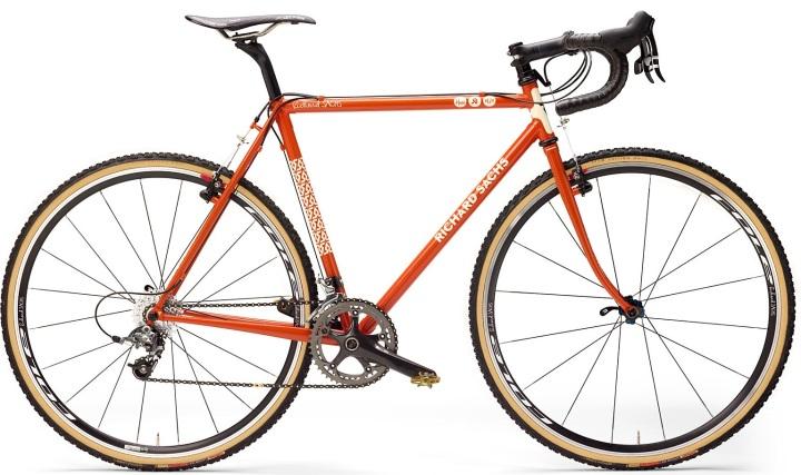 Richard sachs cx team bike orange 2014