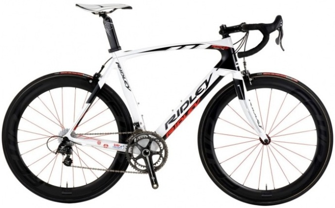 Ridley Noah RS limited edition 2014 white black red campy