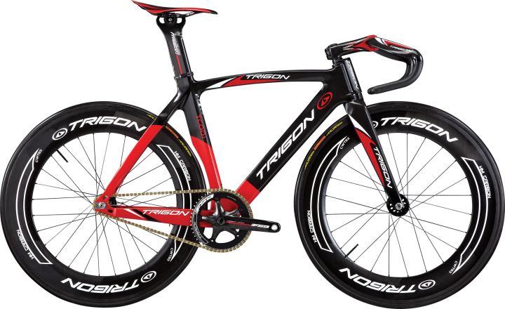 Trigon TC001-2014 ss track black red