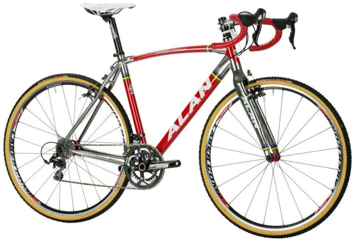 Alan Cross cx 2014 silver red