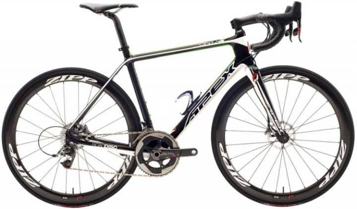 Apex onyx-0.8 disc green white black sram red 2014