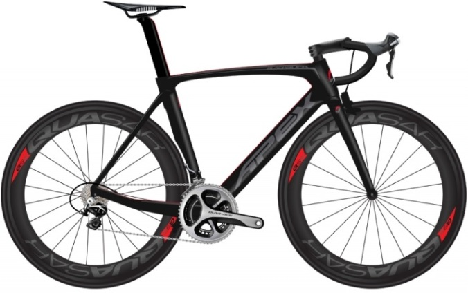 Apex_blackbuck black dura ace 2014