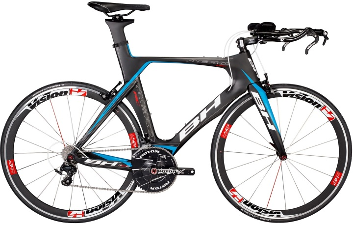 bh aero rc tt 2014 black blue ultegra