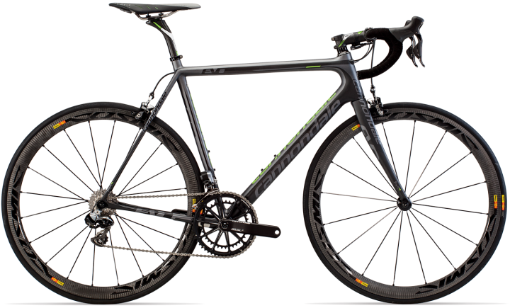 Cannondale SuperSix Evo Hi-MOD Dura Ace Di2 2014 black green