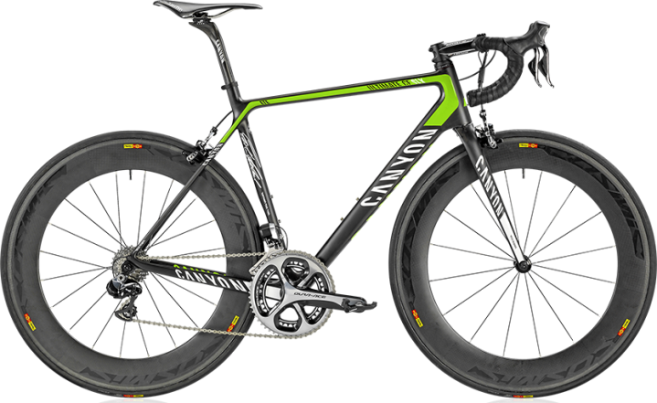 canyon ultimate cf slx 9 lime black 2014