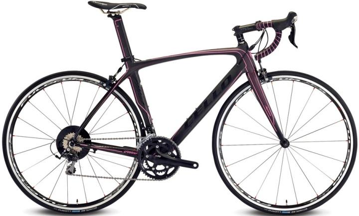 Cello Elliot S7 2014 black pink purple shimano 105
