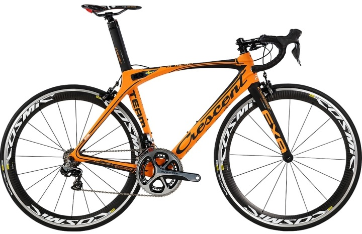 Crescent Exa Black orange dura ace 2014
