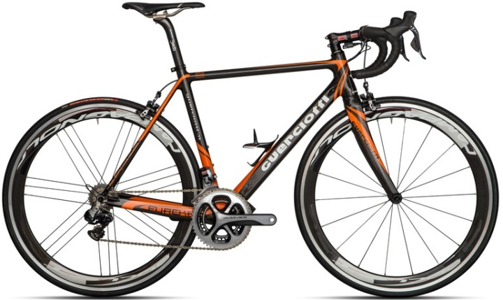 Guerciotti eureka 2014 dura ace di2 black orange 2014