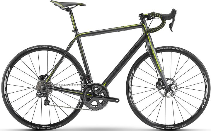 Haibike Q Race RX Pro disc ultegra yellow lime black 2014