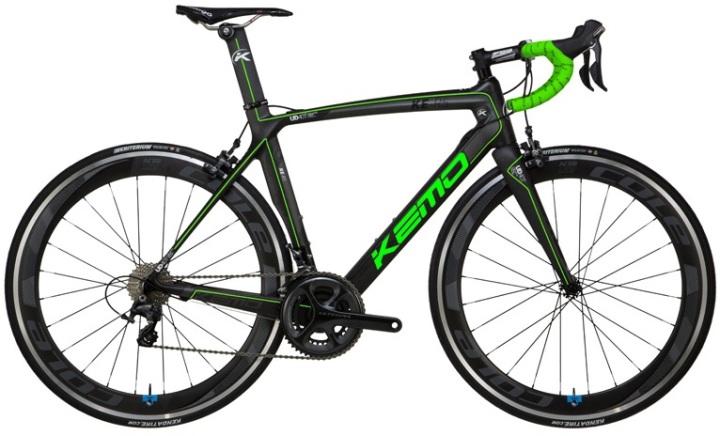Kemo KE R5 black green 2014 ultegra