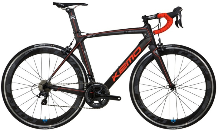 Kemo KE R5 black orange 2014 ultegra