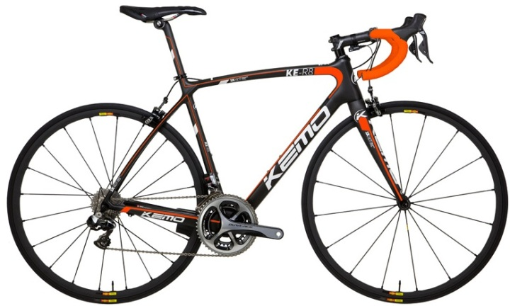Kemo KE R8 4 KS orange black 2014 dura ace