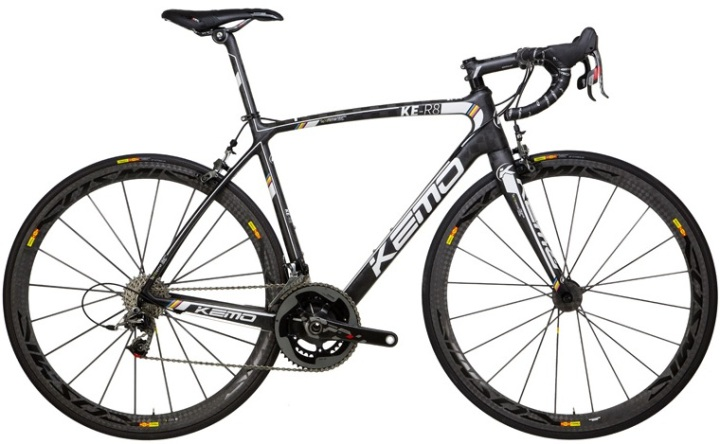 Kemo KE -R8 5  KS black sram red