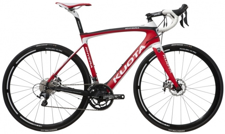 kuota - khydra 2014 disc white red