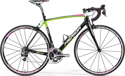 Merida scultura 2014 dura ace lime pink