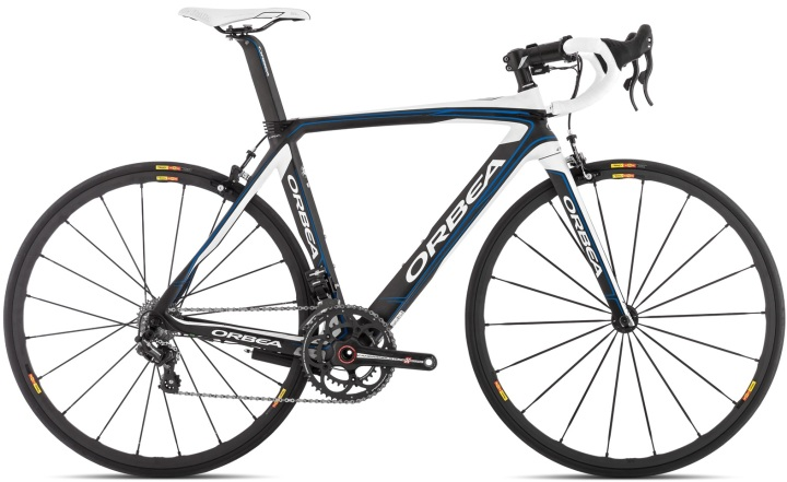 Orbea ORCA M11 eps campy 2014 white blue