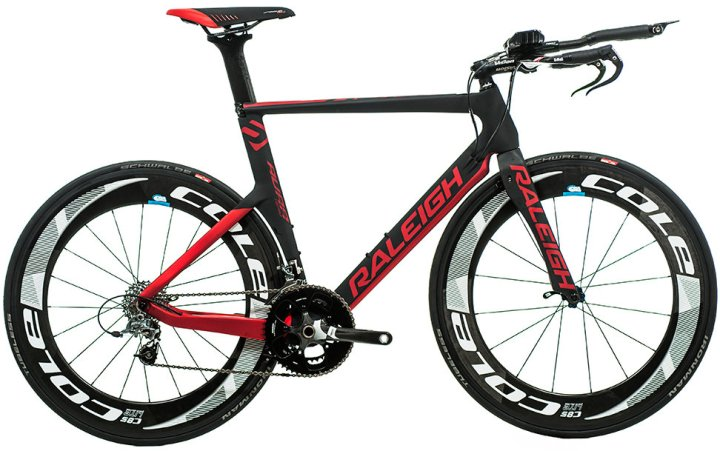 Raleigh AURA TEAM - 2014 red