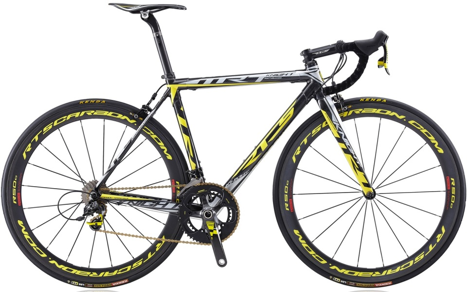 RTS Carbon TTR7 team edition black yellow 2014 sram red
