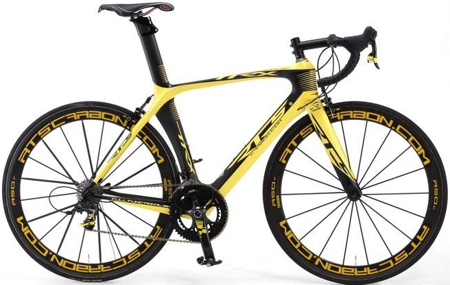 RTS TTRX LIMITED EDITION yellow black sram red 2014