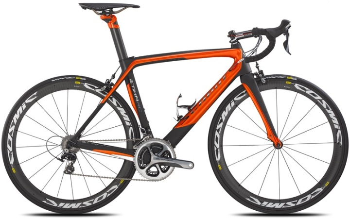 Scapin etika rc s1 orange black dura ace 2014