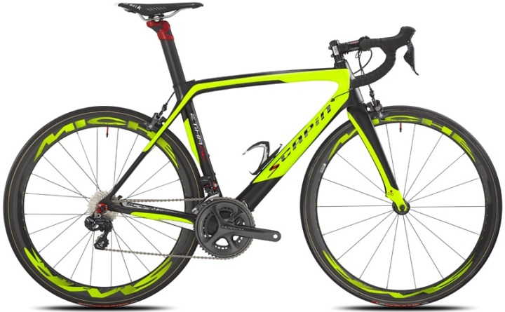 scapin etika rc ultegra di2 2014 black lime yellow