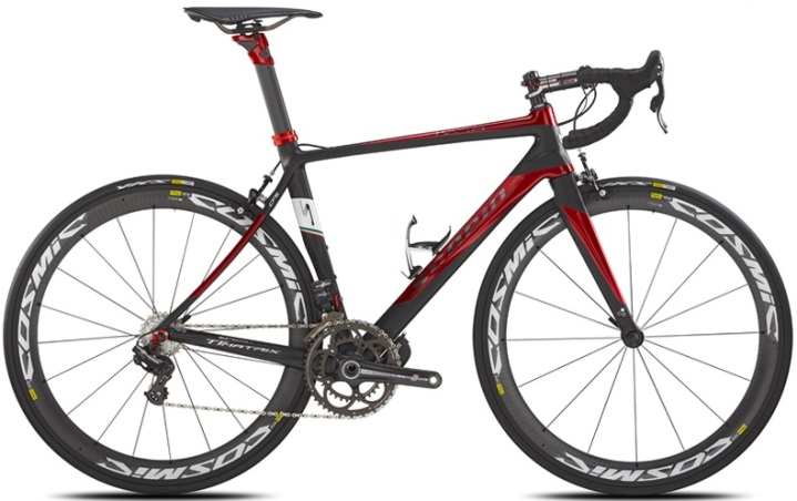 Scapin Ivor EPS R campy black red 2014