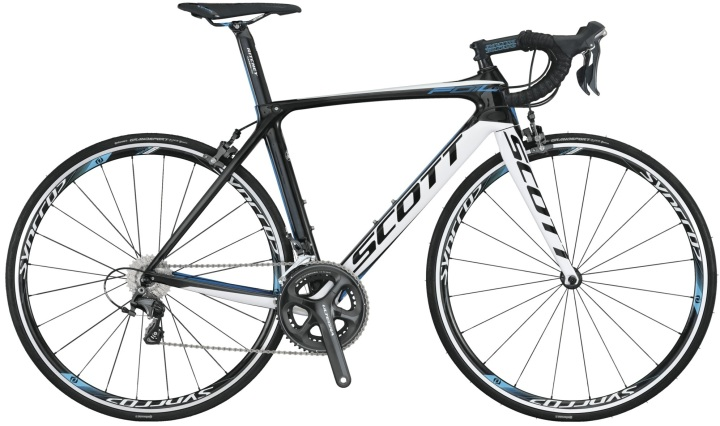 Scott foil 10 white blue 2014 ultegra