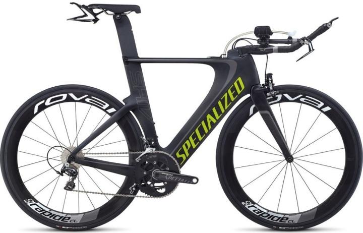 Specialized shiv_pro_race green black tt 2014