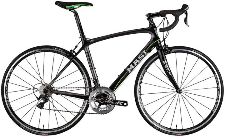 2014-Masi-Pc5 black green ultegra