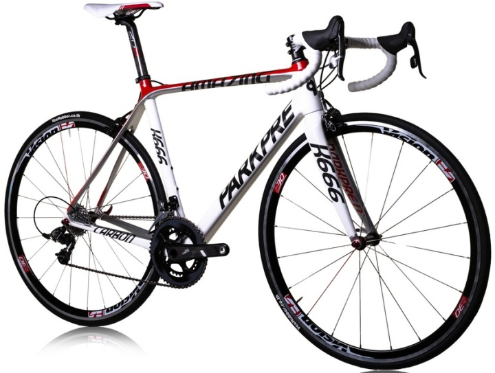 2014 parkpre k666 white red sram