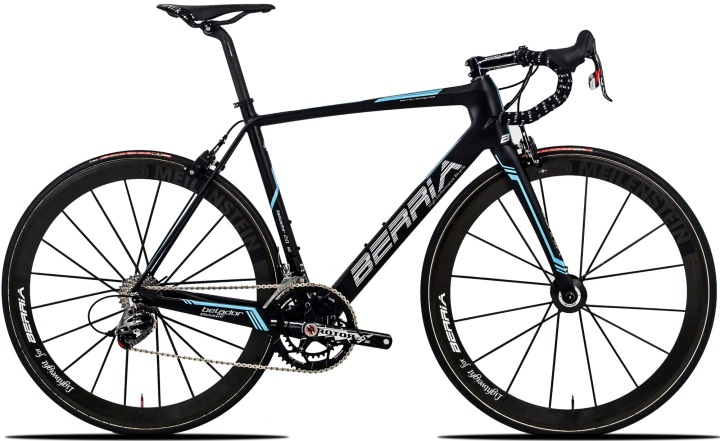 Berria belador 2.0 sl black light blue sram red 2014