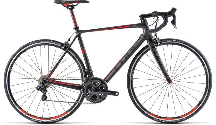 Cube Agree GTC SLT ultegra di2 black red 2014
