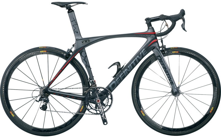 Definitive The One Switch Dura Ace_grey black 2014