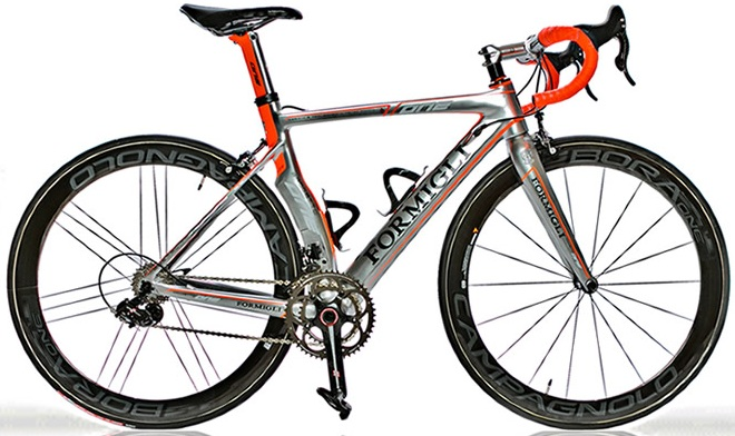 Formigli the One campy super record eps 2014 orange silver