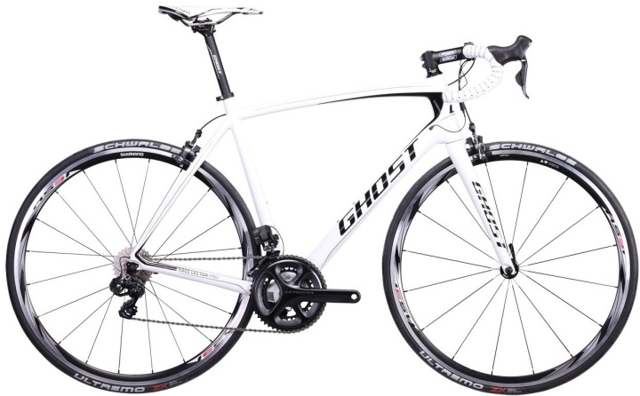 Ghost race lector pro white 2014 ultegra