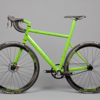 Green with Envy:  English Cycles.... um, SS roadbike?