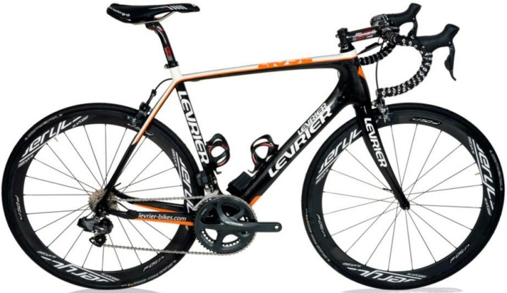 Levrier Evo SL black orange 2013 ultegra
