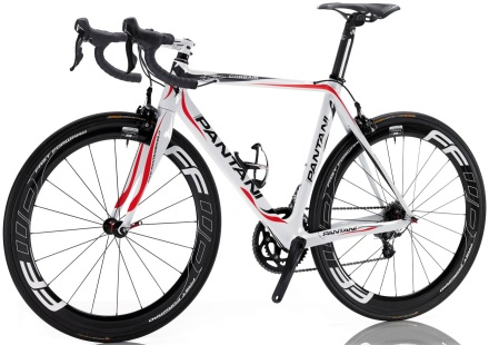 Pantani corsair 2013 white red black