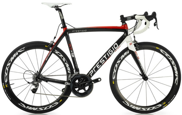 Prestigio RT12 2014 red black white sram force