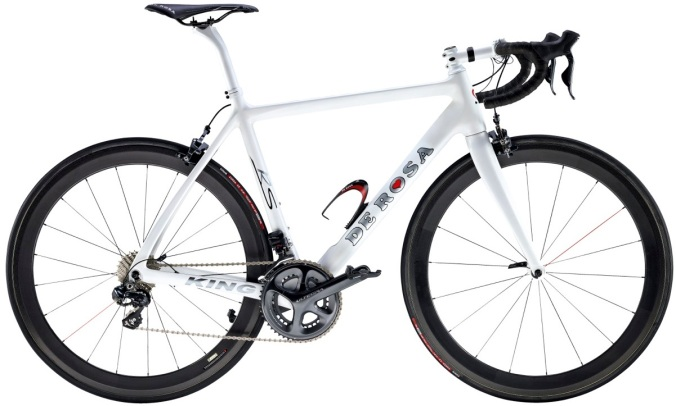 2014 de rosa king rs 300 white ultegra