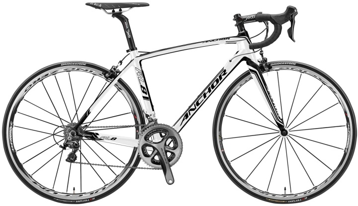 anchor rl8 dura ace white 2014
