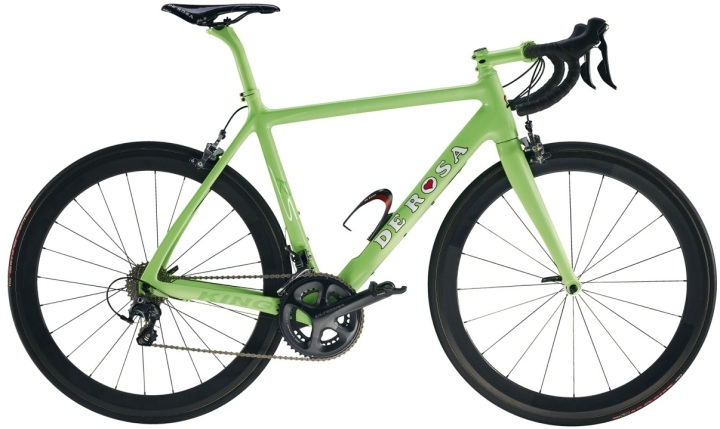 De Rosa KING_RS 300 lime green ultegra 2014