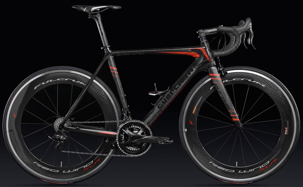 Guerciotti eureka 2014 dura ace di2 black red 2014neuroticarnutz2015 Cervelo RCA black red