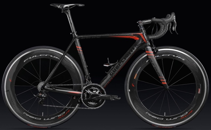 Guerciotti eureka 2014 dura ace di2 black red 2014