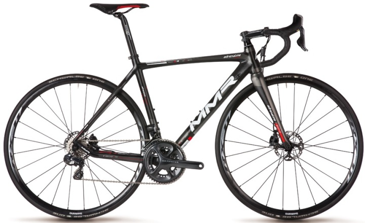 MMR Adrenaline Evo Ultegra Di2 black red 2014 disc