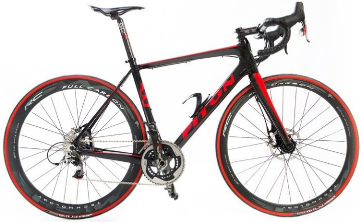 Piton RF2 Disc 2014 red black sram red