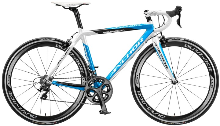 2014 anchor rmz light blue dura ace